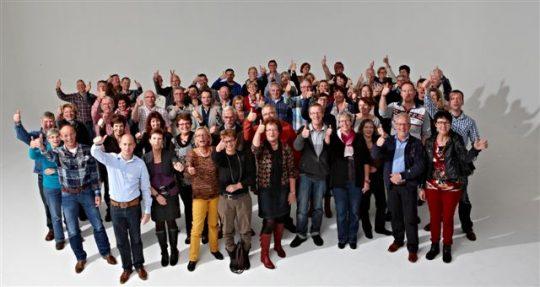 Groepsfoto de SOV 2012